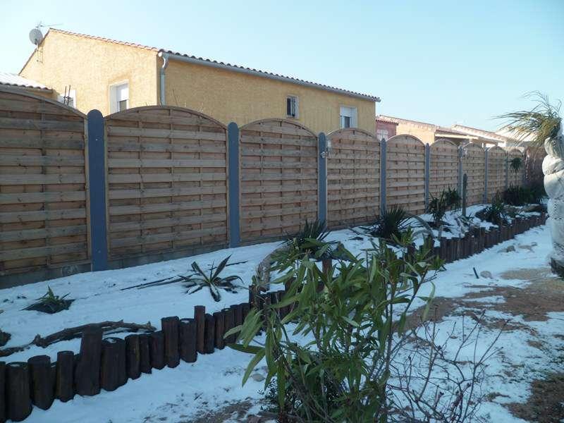 Pose de clôture de jardins à Floure - Renov\' Jardin